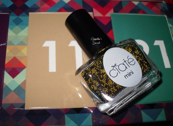 Ciaté Day 11 Caviar Pearls Bumble Bee Mani Month Calender