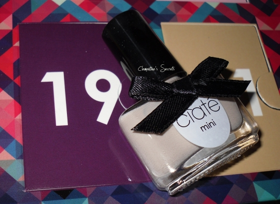 Ciate Day 19 Cookie and Cream Mini Mani Month