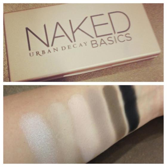 matte naked basics palette