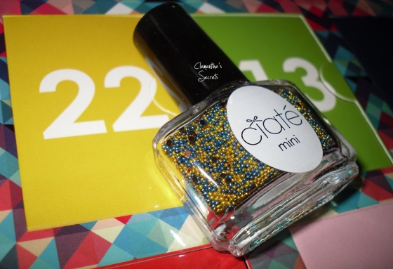 ciate day 22 caviar pearls sundance mini mani month