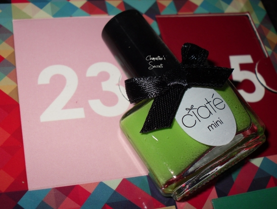 ciate day 23 mojito mini mani month