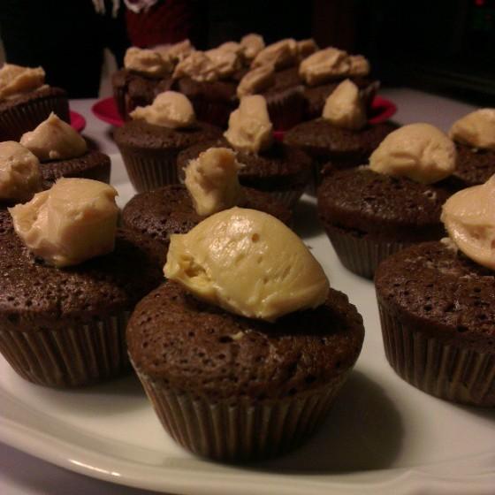 cupcakes chocolat speculoos spartacus