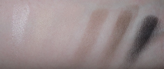 Naked Basics Palette swatch flash