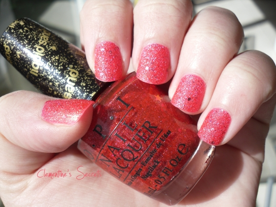 OPI The Impossible Liquid Sand Mariah Carey (2)