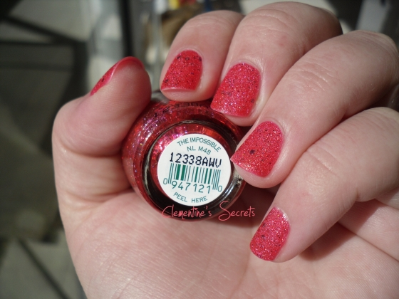 OPI The Impossible Liquid Sand Mariah Carey (4)