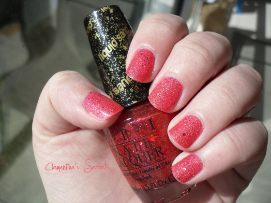OPI The Impossible Liquid Sand Mariah Carey (5)